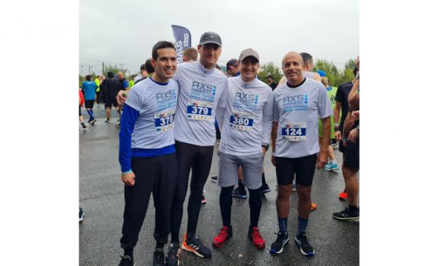 AXS INGENIERIE took part in the 2021 edition of Normandy's half marathon