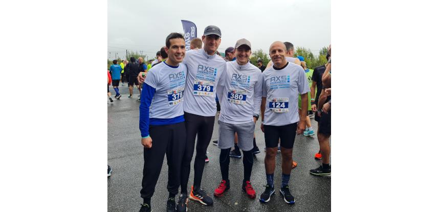 AXS INGENIERIE participe au semi-marathon de Normandie 2021.