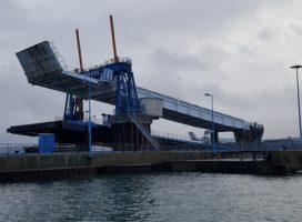 Etude de faisabilité pour la modification de la passerelle RORO 4 du Port de Cherbourg