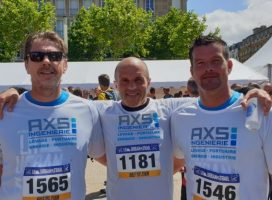 AXS INGENIERIE runs to Le Havre Urban Trail