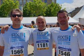AXS INGENIERIE runs to Le Havre Urban Trail