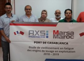 Press release: AXS INGENIERIE takes its first step into the international market by concluding a contract with MARSA MAROC