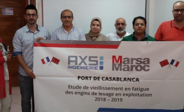 Communiqué de presse : AXS INGENIERIE confirme son succès à l'international et conclut son premier marché avec MARSA MAROC