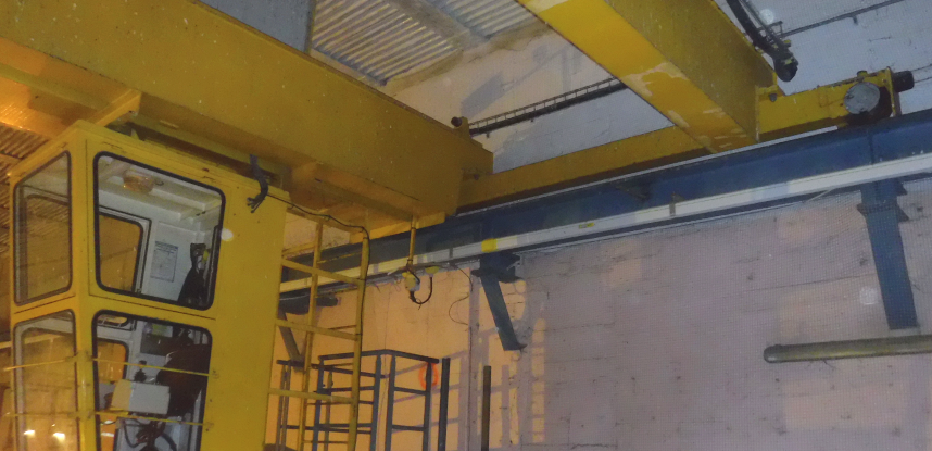 Study for the rehabilitation of 2 runways overhead crane at the Brest Naval Base