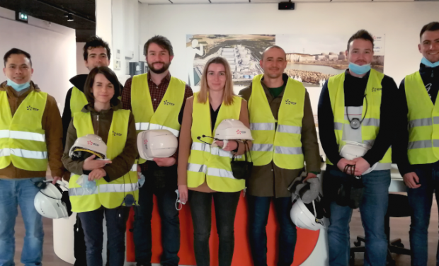 Discovering the EDF nuclear power plant in Paluel