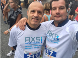 AXS INGENIERIE took part in the 2018 edition of Normandy's half-marathon