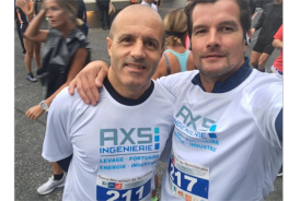 AXS INGENIERIE participe au semi-marathon de Normandie 2018