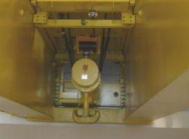 Le CEA Cadarache expertise le pont roulant de l'INB STAR dans le cadre du réexamen de sûreté
