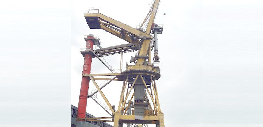 NORD CEREALES launches the assessment of fatigue integrity about 2 bulk cranes