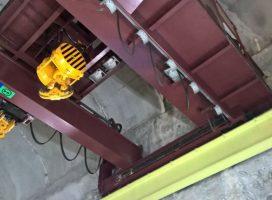 AXS INGENIERIE accompagne EDF pour la rénovation électrique d'un pont roulant 50T
